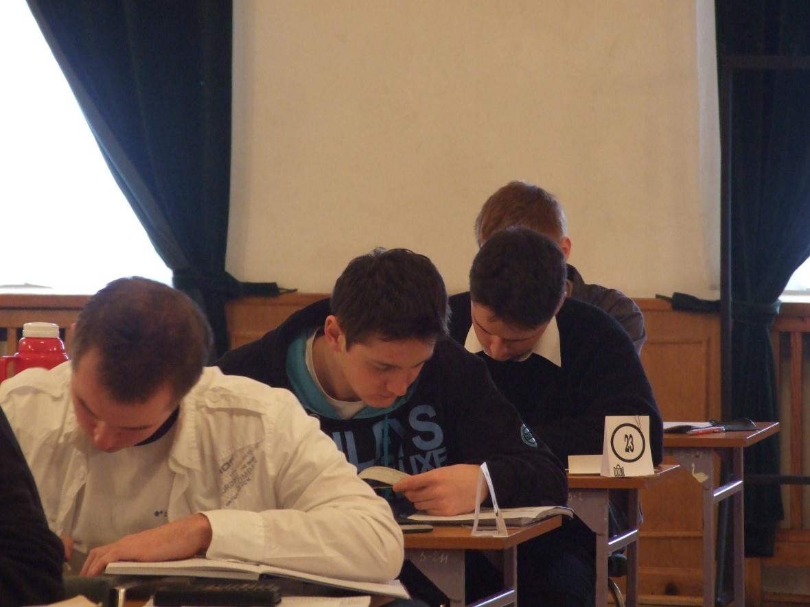 Galeria: LIII Olipiada Astronomiczna etap okręgowy Włocławek 18.01.2010