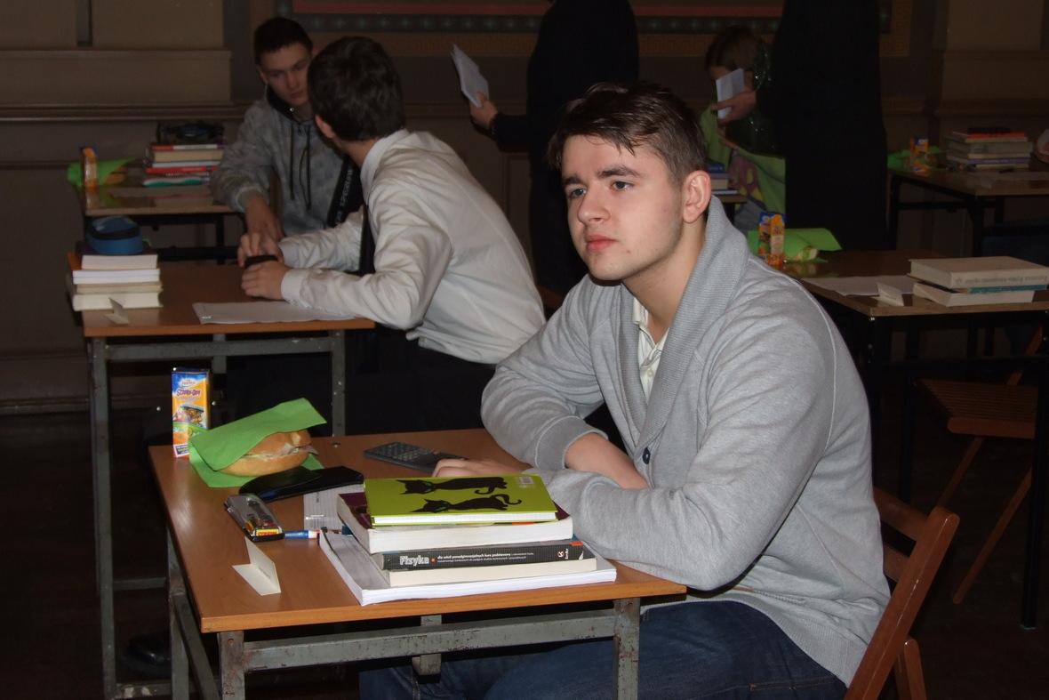 Galeria: LVI Olimpiada Astronomiczna etap okręgowy Katowice 14.01.2013