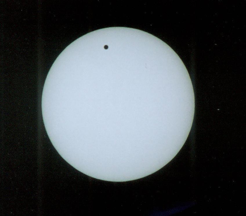 Galeria: Przejście Wenus na Tle Tarczy Słońca  8.06.2004