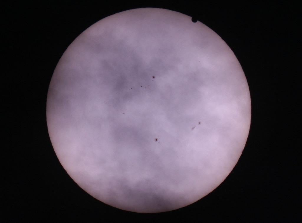 Galeria: Przejście Wenus na Tle Tarczy Słońca 6.06.2012