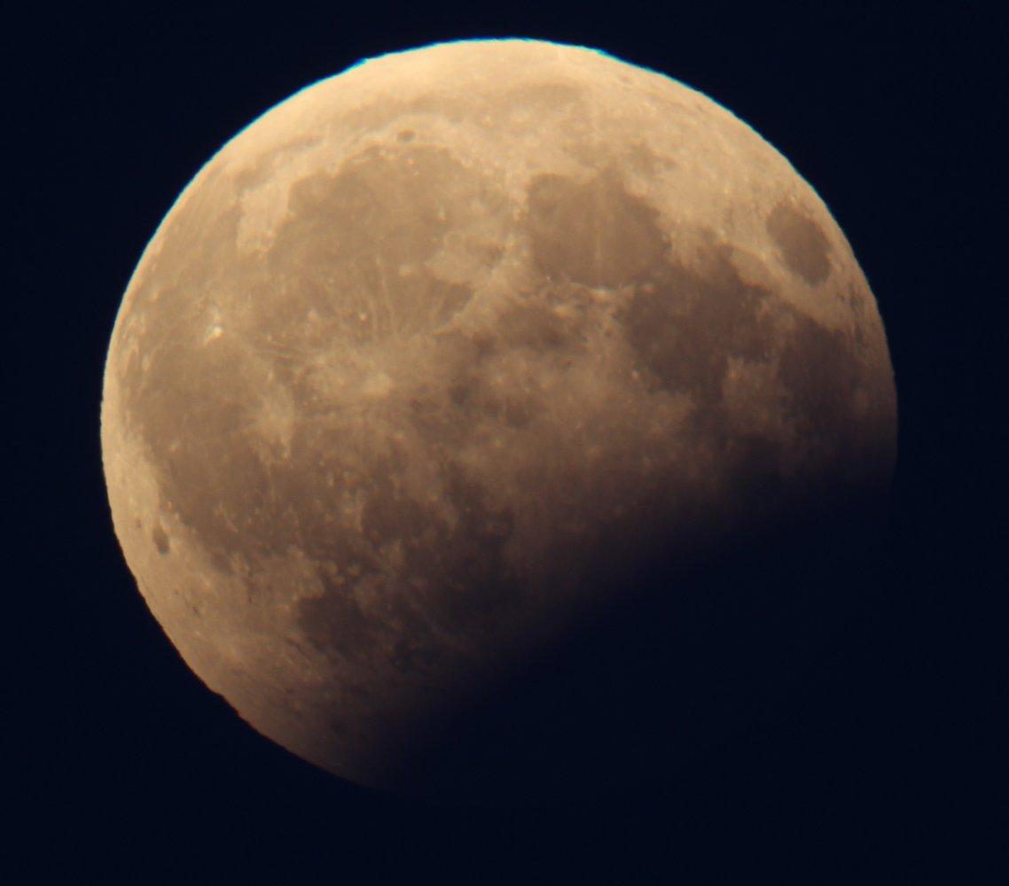 Galeria: Częściowe zaćmienie Księżyca – 7.08.2017